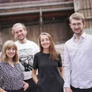 Bild der Band baff! Jonathan Mummert, Lilly Ketelsen, Maximilian Kleinert und Florentine Faber